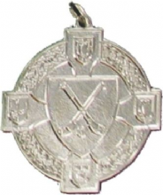 Hurl & Ball Silver 34mm Medal